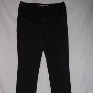 so slimming slim black jeans